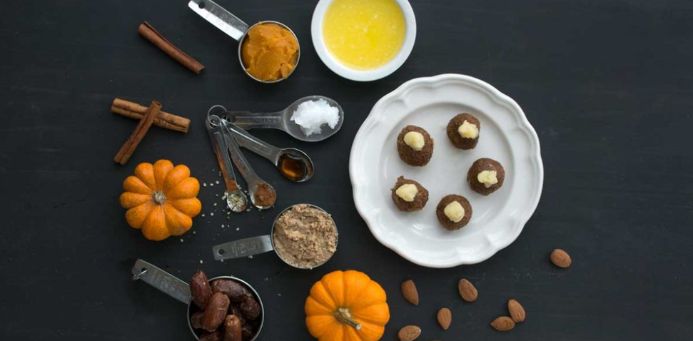 Healthy Hemp Pumpkin Truffles