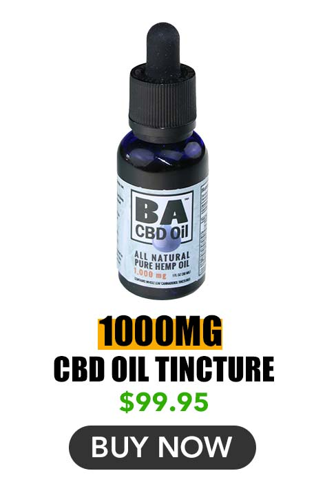 CBD Oil Tincture 1000mg
